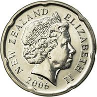 Monnaie, Nouvelle-Zélande, Elizabeth II, 20 Cents, 2006, SPL, Nickel Plated - Nouvelle-Zélande