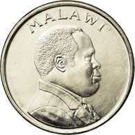 Monnaie, Malawi, 10 Tambala, 1995, TTB, Nickel Plated Steel, KM:27 - Maldives