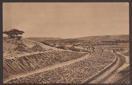 ITALY / ETHIOPIA. 1935. POSTCARD. ROAD UNDER CONSTRUCTION. EDIZIONE D. P. UNUSED. - Other