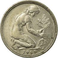 Monnaie, République Fédérale Allemande, 50 Pfennig, 1950, Munich, TTB - [ 6] 1949-1990 : GDR - German Dem. Rep.