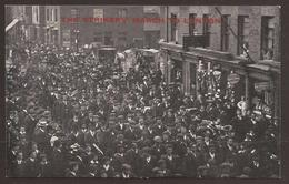 GREAT BRITAIN. POSTCARD. ARMY BOOT MAKERS STRIKERS MARCH. PRINCE REGENTS SERIES. UNUSED - Labor Unions