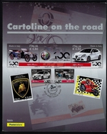 "2018 ITALIA ""CARTOLINE ON THE ROAD / 12° TROFEO CLUB MILANESE AUTO MOTOVEICOLI D'EPOCA"" 06.10.2018 (MILANO) (FOLDER) - Pochettes"