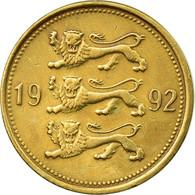 Monnaie, Estonia, 50 Senti, 1992, TTB, Aluminum-Bronze, KM:24 - Estonia