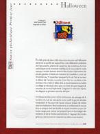 """"""" HALLOWEEN """" Sur Notice Officielle 1er Jour De 2004 . N° YT 3713. Parfait état. - Carnival"""