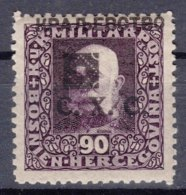 Yugoslavia, Kingdom SHS, Issues For Bosnia 1919 Mi#45 B - Perforation 11,5 Mint Hinged - 1919-1929 Royaume Des Serbes, Croates & Slovènes