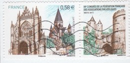 FRANCE 2011 - METZ OBLITERE SUR FRAGMENT  YT 4554 - - France