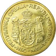 Monnaie, Serbie, 5 Dinara, 2010, TTB, Nickel-brass, KM:40 - Serbie