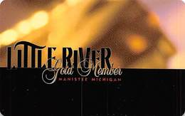 Little River Casino - Manistee, MI - BLANK GOLD MEMBER Slot Card - Casino Cards