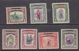 NMorth Borneo,  George VI 1947, 1/2c To 10c MH * - North Borneo (...-1963)