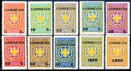 !■■■■■ds■■ Mozambique Postal Tax 1927 AF#14-23* Complete Set (x0953) - Mosambik