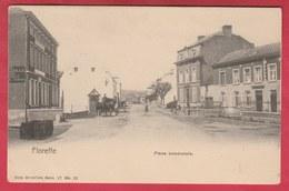 Floreffe - Place Communale ... Calêche ( Voir Verso ) - Floreffe