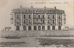 A18- FUENTERRABIA (ESPAGNE) PALAIS DE MIRAMART - (2 SCANS) - Guipúzcoa (San Sebastián)