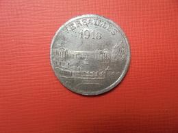 VERSAILLES 25 CENTIMES 1918 MONNAIE DE NECESSITE (PLANCHE.4) - France