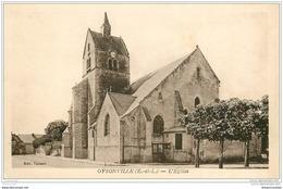 28 OYSONVILLE. L'Eglise - Autres Communes