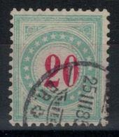 Suisse //Schweiz//Svizzera// Switzerland // Taxe // Taxe 19AK Oblitéré - Portomarken