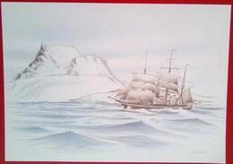 Sailing Ship - Greenland