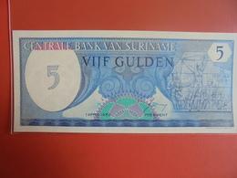 SURINAME 5 GULDEN 1982 PEU CIRCULER/NEUF - Surinam
