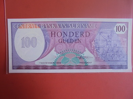 SURINAME 100 GULDEN 1985 PEU CIRCULER/NEUF - Surinam