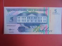 SURINAME 5 GULDEN 1998 PEU CIRCULER/NEUF - Surinam