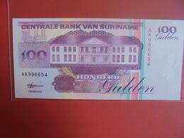 SURINAME 100 GULDEN 1998 PEU CIRCULER/NEUF - Surinam