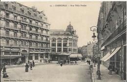 Carte Postale Ancienne De Grenoble Avenue De La Gare Et La Coupole Dauphinose - Grenoble