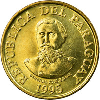 Monnaie, Paraguay, 100 Guaranies, 1995, SUP, Brass Plated Steel, KM:177a - Paraguay