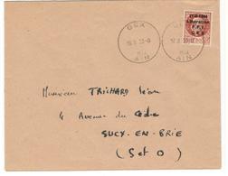 16835 - Libération GEX - Marcophilie (Lettres)