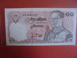 THAILANDE 10 BAHT 1980 PEU CIRCULER/NEUF - Thailand