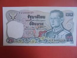 THAILANDE 20 BAHT 1981 PEU CIRCULER/NEUF - Thaïlande