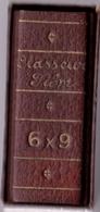 Ancien Mini CLASSEUR De FILM Format 6 X 9 Dans Son étui - 100 Pochettes Cristal Numérotées Et Repertoire. Vide. - Zubehör & Material