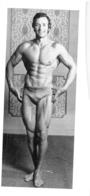 PHOTO HOMME EN MAILLOT DE BAIN CULTURISME CULTURISTE FORMAT 15 X 7 CM - Sports