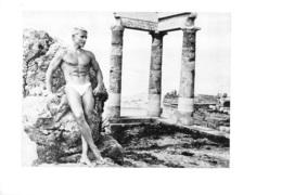 PHOTO HOMME EN MAILLOT DE BAIN CULTURISME CULTURISTE  FORMAT 23 X 16 CM - Sports