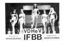 PHOTO  FEMMES ATHLETIK SPORT JOURNAL 1971   FORMAT 13 X 9 CM - Sports