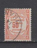 FRANCE / 1908 - 1925 / Y&T TAXE N° 47 : Recouvrements 50c Rouge - Oblitération De 1914. SUPERBE ! - Taxes