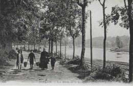MORLAIX - LES BORDS DE LA RIVIERE - BIEN ANIMEE - VERS 1900 - Morlaix
