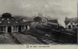 DIJON  Gare Dijon Ville Train à Vapeur RV - Dijon