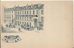 Carte Postale Ancienne De Valogne L'hotel Du Louvre - Valognes