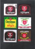 AFFLIGEM - BROUWERIJ DE SMEDT - OPWIJK - 6 BIERETIKETTEN  (BE 007) - Beer