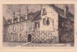 14 -- Calvados -- Dives-sur-Mer -- Hôtellerie Guillaume Le Conquérant -- Dessin - Dives