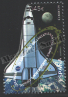 Spain - Espagne 2016 Yvert 4764, Space. 35th Anniversary Of The Launching Of The Space Shuttle Columbia - MNH - 2011-... Nuevos & Fijasellos