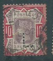 Grande Bretagne Victoria 1890 Perforé - 1840-1901 (Victoria)