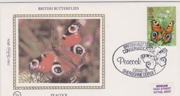 Great Britain 1981 British Butterfly Conservation Society, Benham Souvenir Cover - Covers & Documents