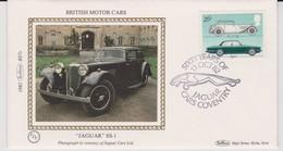 Great Britain 1982 60 Years Of Jaguar Cars,souvenir Cover - 1952-.... (Elizabeth II)