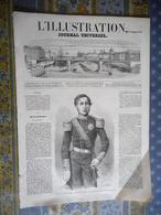 L' ILLUSTRATION 23/11/1861 MADAGASCAR TAMATAVE SAINTE MARIE NOSSI BE VARSOVIE MIGNARD GISORS CHINE PEKIN  PEI HO LUCERNE - Periódicos