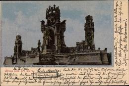 Cp Syburg Dortmund Nordrhein Westfalen, Denkmal Hohensyburg, Seidenimitat - Deutschland