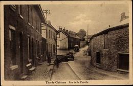 Cp Thy Le Chateau Wallonien Namur, Rue De La Pairelle - Belgium