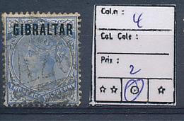 GIBRALTAR YVERT 4 USED - Gibraltar