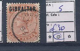 GIBRALTAR YVERT 5 USED - Gibraltar