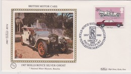 Great Britain 1982 Rolls-Royce Club,souvenir Cover - Covers & Documents