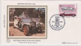 Great Britain 1982 Rolls-Royce Club,souvenir Cover - 1952-.... (Elizabeth II)